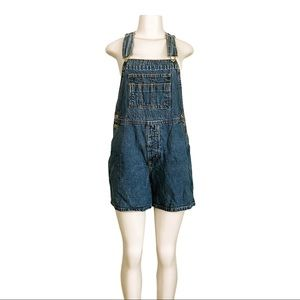 Vintage LondonJean Short Overalls SZ M